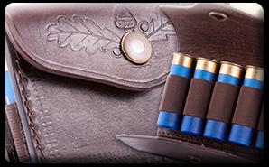 Výrobky z kože - púzdra na náboje