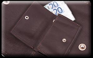 Výrobky z kože - peňaženky